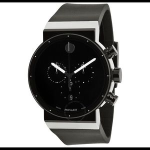 NWT MENS MOVADO SAPPHIRE SYNERGY WATCH
